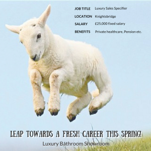 Leap Towards A New Career Image