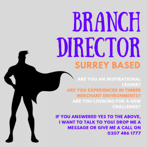 Branch Director Advert Image